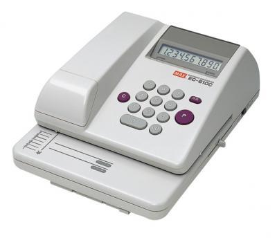 【キャッシュレス5%還元】EC-610C マックス 電子チェックライタ  (CR-10957)【/srm】
