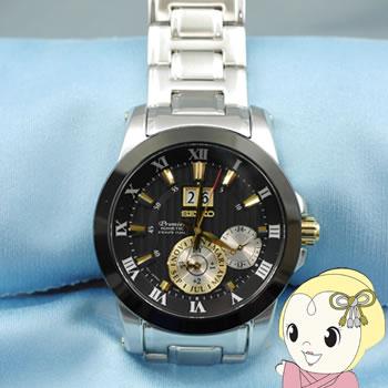 【あす楽】【在庫処分】[逆輸入品] SEIKO キネティック 腕時計 PREMIER プルミエ KINETIC PERPETUAL パーペチュアル SNP129P1【smtb-k】【ky】
