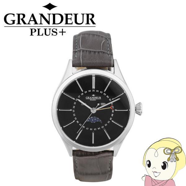GRP011W2 GRANDEUR PLUS+ グランドールプラス 腕時計 ムーンフェイズ 牛本革バンド【smtb-k】【ky】