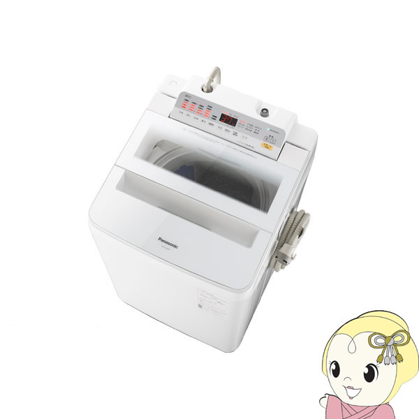 NA-FA80H6-W パナソニック 全自動洗濯機8kg 泡洗浄 ホワイト【smtb-k】【ky】
