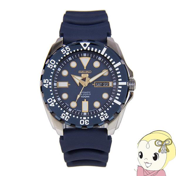 【あす楽】【在庫僅少】[逆輸入品] SEIKO 自動巻 腕時計 セイコー5 オートマチック SRP605J2【smtb-k】【ky】
