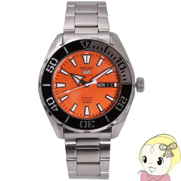 【逆輸入品】 SEIKO 5 SPORTS 腕時計 自動巻き 100M防水 SRPC55K1【smtb-k】【ky】