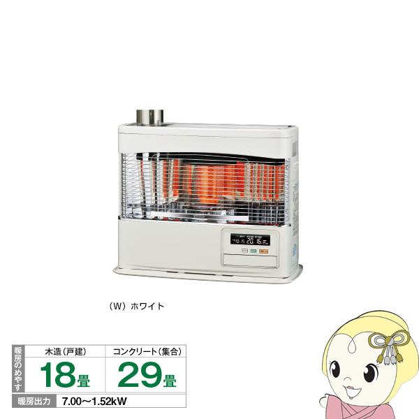 [予約]SV-7018PR-W コロナ 寒冷地用ストーブ ポット式輻射 (木造18畳まで/コンクリート29畳まで)【smtb-k】【ky】