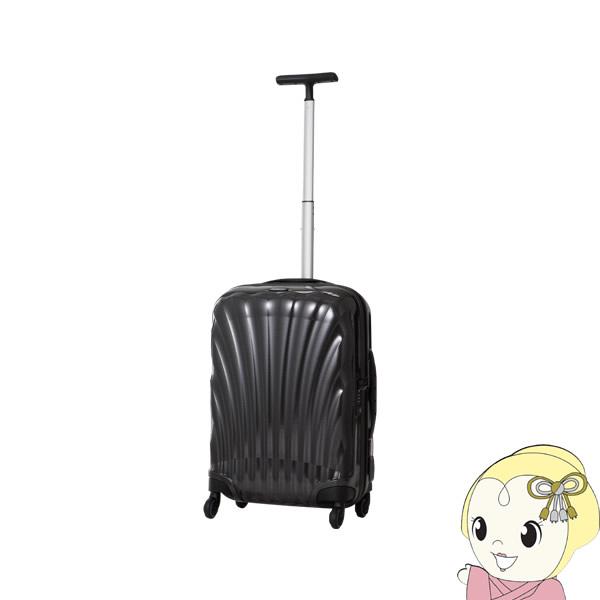 【2~3泊程度の旅行に】V22-302-1041 並行輸入品 サムソナイト スーツケース コスモライト スピナー55 BLACK【/srm】