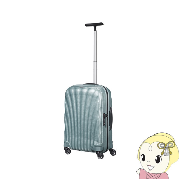 【2~3泊程度の旅行に】V22-302-1432 並行輸入品 サムソナイト スーツケース コスモライト スピナー55 ICE BLUE【/srm】