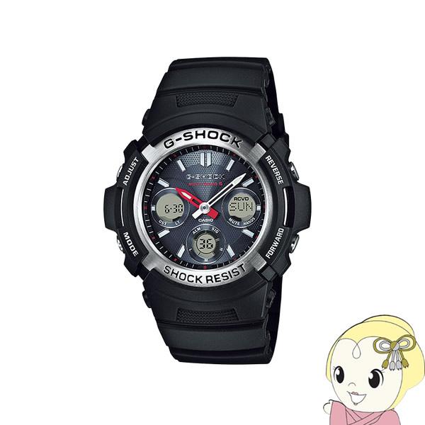 【あす楽】【在庫僅少】【キャッシュレス5%還元】【逆輸入品】 カシオ 腕時計 G-SHOCK 電波ソーラー AWG-M100-1A