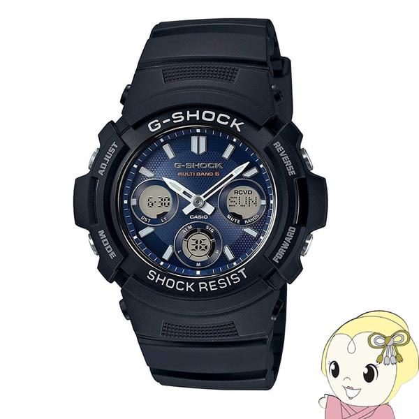 【あす楽】【在庫あり】【逆輸入品】 カシオ 腕時計 G-SHOCK 電波ソーラー AWG-M100SB-2A【smtb-k】【ky】