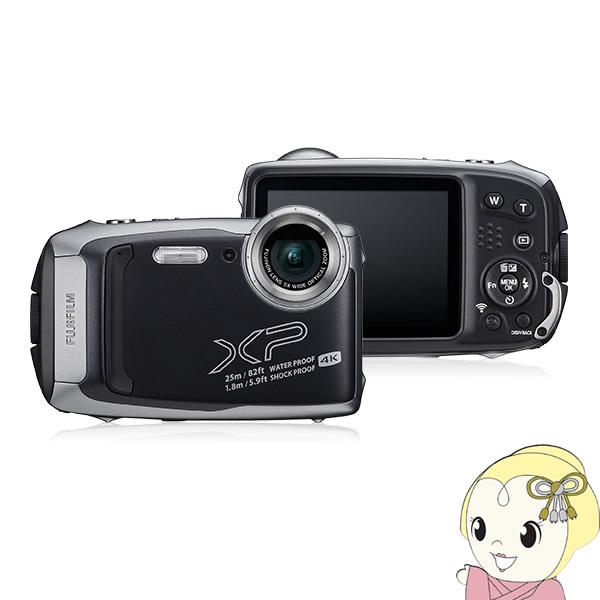 【キャッシュレス5%還元】FFX-XP140-DS 富士フィルム デジタルカメラ FinePix XP140 [ダークシルバー]【/srm】【KK9N0D18P】