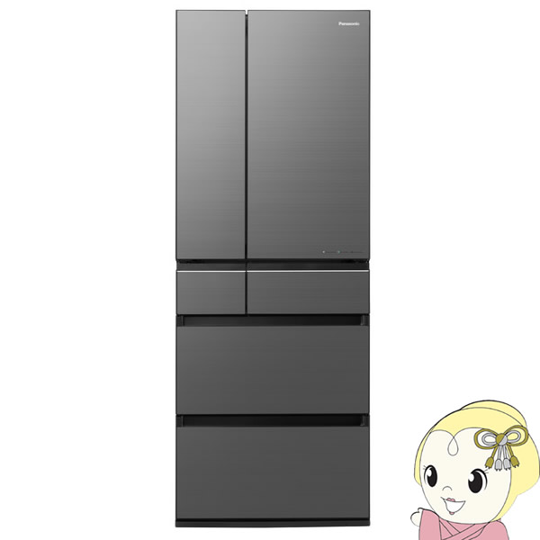【設置込】NR-F605WPX-H パナソニック 6ドア冷蔵庫600L WPXタイプ ミスティスチールグレー【smtb-k】【ky】【KK9N0D18P】