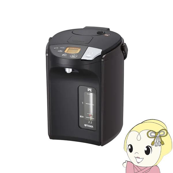 PIS-A220-T タイガー 蒸気レスVE電気まほうびん 2.2L 「とく子さん」 ブラウン【smtb-k】【ky】