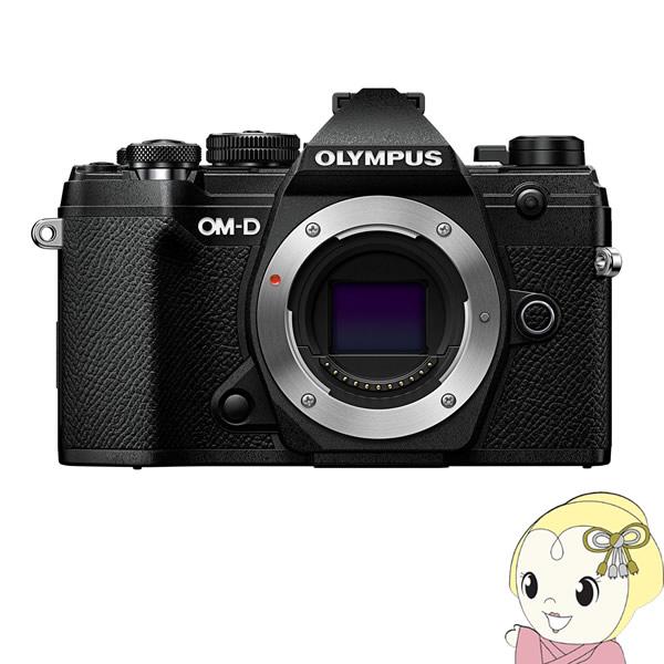 【キャッシュレス5%還元】OLYMPUS ミラーレス一眼レフカメラ OM-D E-M5 Mark III ボディ [ブラック]【/srm】
