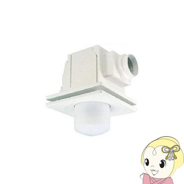 【キャッシュレス5%還元】東芝 換気扇 ダクト 照明器具取付 フラットインテリアバネル 鋼板ボディ 低騒音 トイレ 洗面所 浴室 DVL-14KX4【/srm】