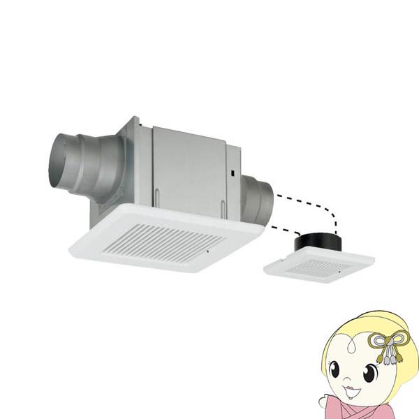 東芝 換気扇 ダクト 2部屋 鋼板ボディ 低騒音 サニタリー トイレ 洗面所 浴室 DVP-T14L【/srm】