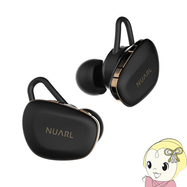 NUARL ヌアール ワイヤレスイヤホン N6 PRO マットブラック N6PRO-MB【/srm】