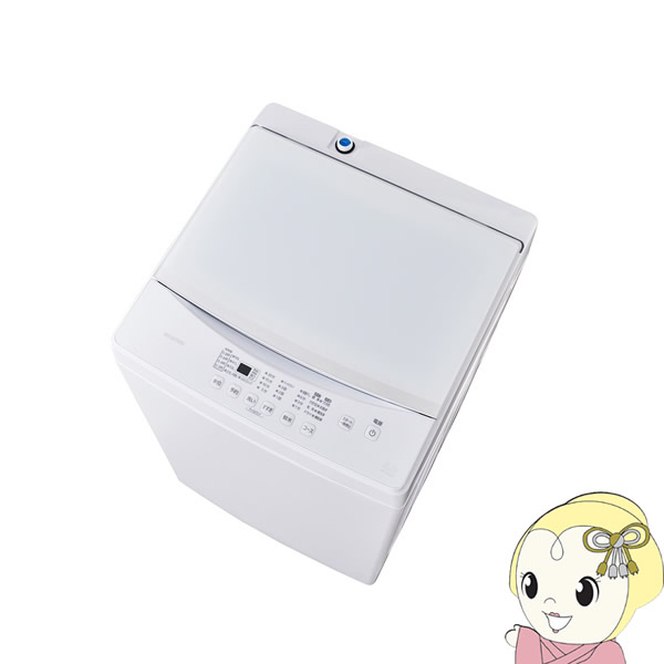 信頼の創業昭和39年 激安家電の老舗 在庫僅少 IAW-T603WL アイリスオーヤマ 直営限定アウトレット 6kg ホワイト Seasonal Wrap入荷 全自動洗濯機 srm
