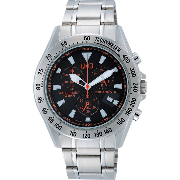 シチズン 腕時計 Q&Q SOLARMATE クロノグラフ H022-212【smtb-k】【ky】