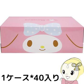 ハヤシ商事 マイメロディ キュートピンクティッシュ 150組1P*40セット【smtb-k】【ky】