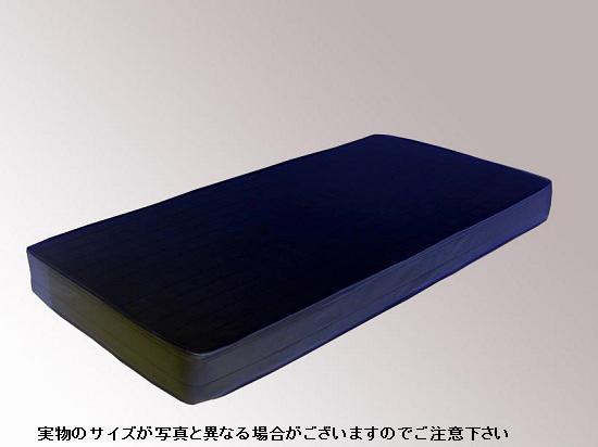 MSD49165 友澤木工 レギュラーマットレス(黒) セミダブル ブラック【smtb-k】【ky】