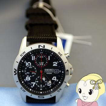 【あす楽】【在庫僅少】[逆輸入品] SEIKO クォーツ 腕時計 クロノグラフ SND399P【smtb-k】【ky】
