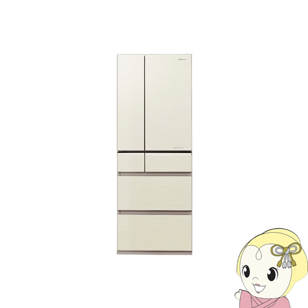 【京都はお得!】【設置込】NR-F553XPV-N パナソニック 6ドア冷蔵庫551L 「XPVタイプ」 シャンパンゴールド【smtb-k】【ky】