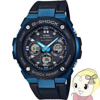 【キャッシュレス5%還元】【あす楽】【在庫僅少】カシオ 腕時計 G-SHOCK G-STEEL ミドルサイズ GST-W300G-1A2JF【/srm】