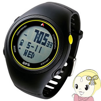 Shot Navi WT300-Y アクティノ GPSランニングウォッチ 3気圧防水 走行記録(30回分) イエロー【smtb-k】【ky】