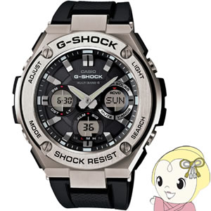 【キャッシュレス5%還元】カシオ 腕時計 G-SHOCK G-STEEL GST-W110-1AJF【/srm】