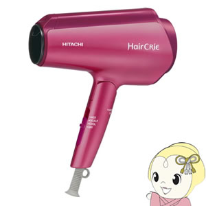 日立 ヘアードライヤー Hair CRiE Plus ヘアクリエプラス ナノイオン ピンクトパーズ HD-NS800-P【smtb-k】【ky】