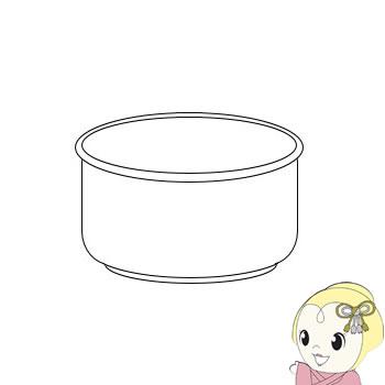 2343800300 シャープ ジャー炊飯器 5.5合用 内ナベ【smtb-k】【ky】