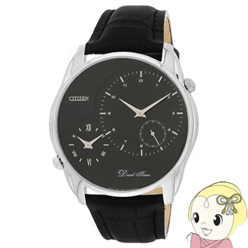 [逆輸入品] CITIZEN メンズ 腕時計 クォーツ デュアルタイム AO3009-04E【smtb-k】【ky】