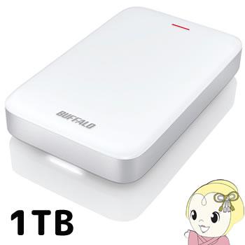 HD-PA1.0TU3-C バッファロー ポータブルHDD HD-PATU3-Cシリーズ 1TB Thunderbolt対応【/srm】