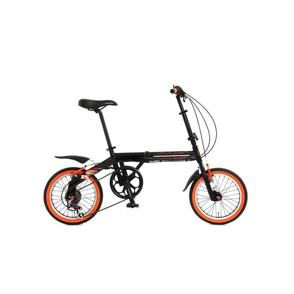 【メーカー直送】104BLACKBULLET2 ドッペルギャンガー 16インチ折りたたみ自転車 104 blackbullet II【smtb-k】【ky】
