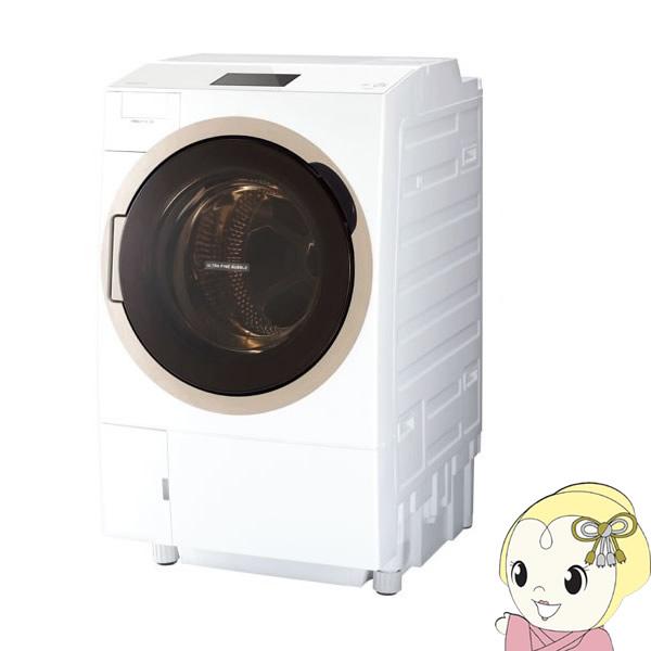 【設置込】【右開き】TW-127X7R-W 東芝 ドラム式洗濯乾燥機12kg 乾燥7kg ZABOON グランホワイト【smtb-k】【ky】