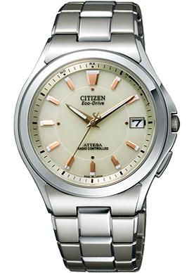 ATD53-2843 シチズン 腕時計 アテッサ エコ・ドライブ電波時計【smtb-k】【ky】