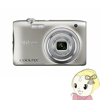 ニコン デジタルカメラ COOLPIX A100 [シルバー] 【smtb-k】【ky】