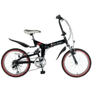 「メーカー直送」TL-207-BK トニーノ・ランボルギーニ 20インチ折畳自転車 ブラック【smtb-k】【ky】