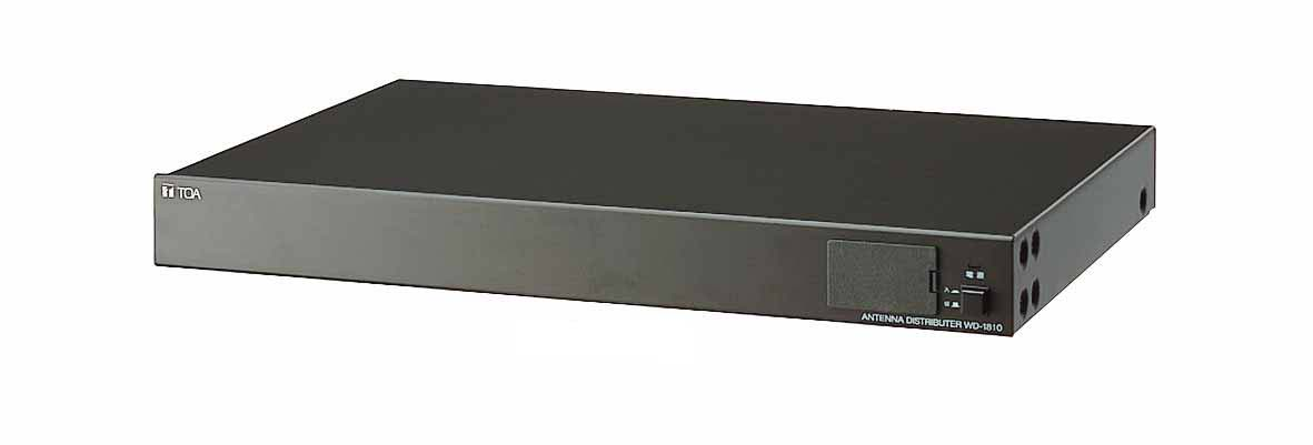 【キャッシュレス5%還元】WD-1810 TOA ワイヤレスアンテナ混合分配器 800MHz帯ダイバシティワイヤレスシステム専用 9760007296554【/srm】