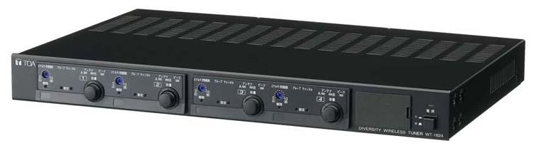 WT-1824 TOA ダイバシティワイヤレスチューナー 水晶制御PLLシンセサイザー方式【smtb-k】【ky】