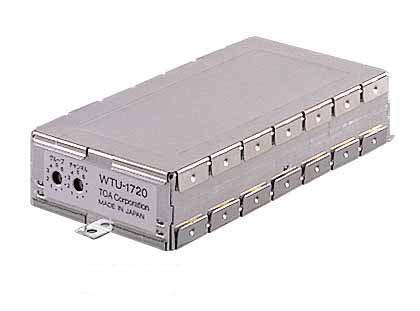 WTU-1720 TOA シングルワイヤレスチューナーユニット 水晶制御PLLシンセサイザー方式【smtb-k】【ky】