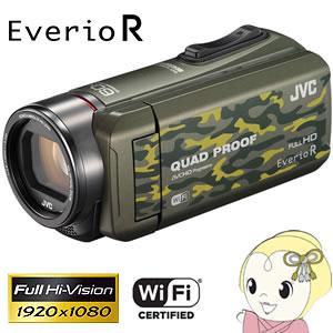 GZ-RX600-G JVC ハイビジョンメモリームービー Everio R カモフラージュ【smtb-k】【ky】