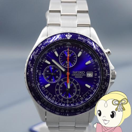 【あす楽】【在庫僅少】[逆輸入品] 人気商品SEIKO クォーツ 腕時計 パイロット クロノグラフ SND255P1【smtb-k】【ky】