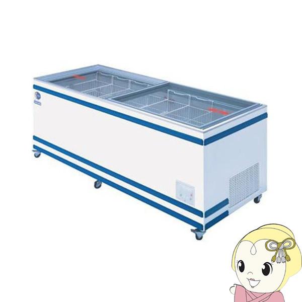 【メーカー直送】GTXS-77 ダイレイ ジャンボ無風冷凍冷蔵切替式ショーケース 570L【smtb-k】【ky】