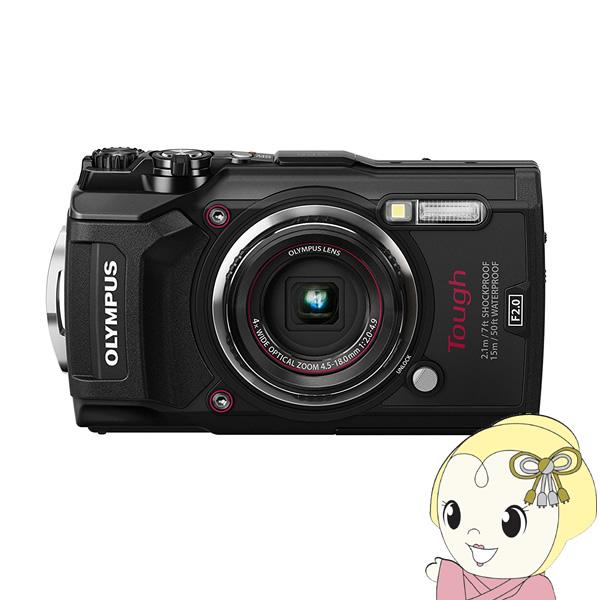 OLYMPUS コンパクトデジタルカメラ Tough TG-5 [ブラック]【防水機能】【4K対応】【Wi-Fi機能】【GPS搭載】【手ブレ補正】【smtb-k】【ky】【KK9N0D18P】