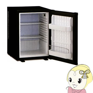三ツ星貿易 冷蔵庫40L ペルチェ式 静音 ブラック ML-640B【smtb-k】【ky】