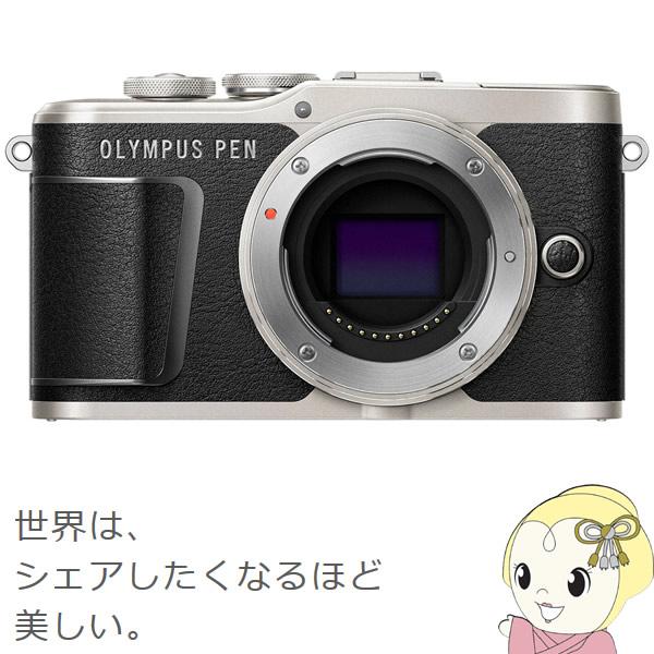 [予約]オリンパス ミラーレス一眼カメラ OLYMPUS PEN E-PL9 ボディ [ブラック]【smtb-k】【ky】【KK9N0D18P】
