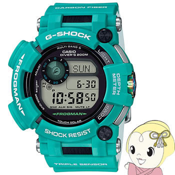 【あす楽】【在庫限り】カシオ 腕時計 G-SHOCK FROGMAN Master in MARINE BLUE GWF-D1000MB-3JF【smtb-k】【ky】