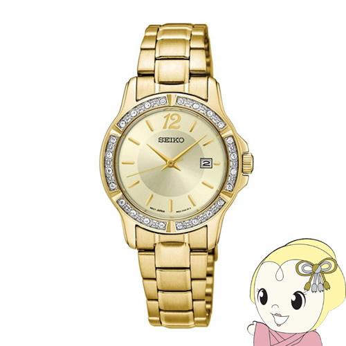 【あす楽】【在庫処分】[逆輸入品] SEIKO クオーツ レディース 腕時計 SUR714P1【smtb-k】【ky】