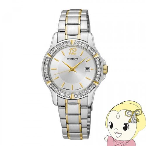 【あす楽】【在庫処分】[逆輸入品] SEIKO クオーツ レディース 腕時計 SUR718P1【smtb-k】【ky】