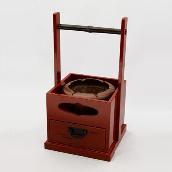 【タバコ盆】紀州漆器 漆器 灰皿 和風 ギフト プレゼント キセル インテリア雑貨 メンズ レトロ 民芸品