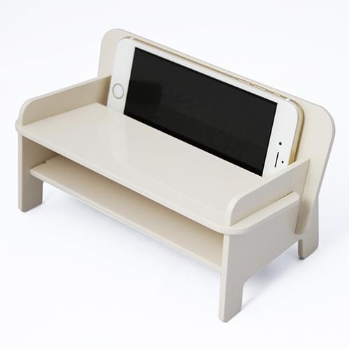 【SPEAKER CHAIR bench type - Premium (プレーン)】漆器 漆 和風 スピーカーチェアー 電源いらず ノン電源 iPhone スピーカー 携帯置き スマホスタンド インテリア雑貨 iPhone5 iPhone5s iPhone6 iPhone6s iPhone6+ iPhone6s+ iPhone7 iPhone7+ ギフト プレゼント